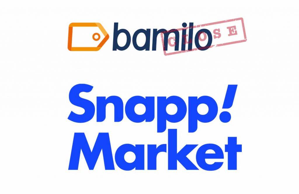 پایان فروشگاه اینترنتی بامیلو و شروع اسنپ مارکت